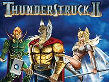 Автомат на деньги Thunderstruck II от казино Вулкан
