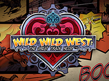 Wild Wild West: The Great Train Heist онлайн на деньги