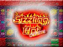 Играть  казино в автомат Sizzling Hot Deluxe онлайн