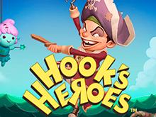 Играйте и получайте бонусы в виртуальном слоте Герои Крюка